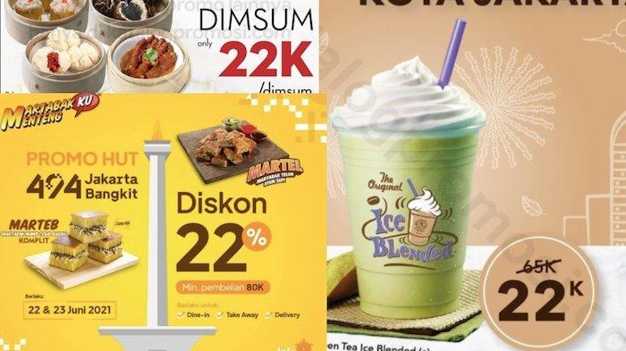 Katalog Promo HUT Jakarta ke-494 Dapatkan Diskon Mulai dari Makanan Sampai Tempat Wisata