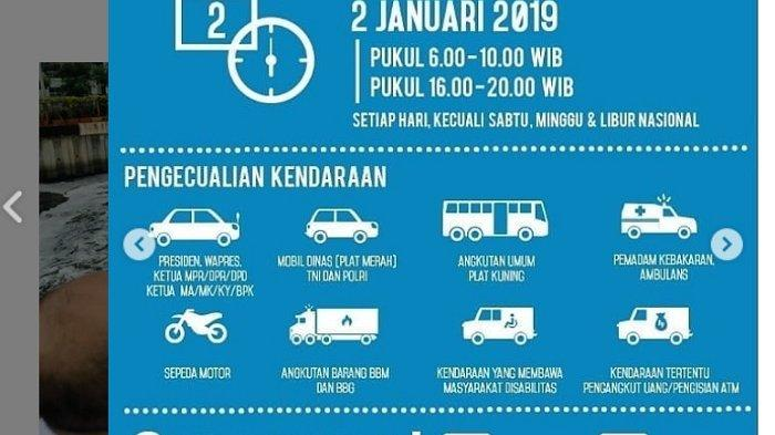 Kawasan Ganjil Genap: Ini Daftar 27 Persimpangan Bebas Ganjil Genap di Jakarta, Jangan sampai Salah