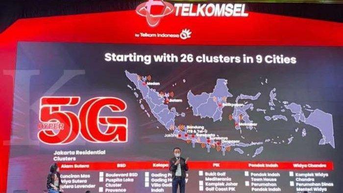 Inilah Daerah yang Bisa Menerima Jaringan 5G dan Harga Paket Internetan Telkomsel