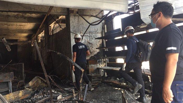 Tim Puslabfor Polri Lakukan Olah TKP di Cahaya Swalayan, Dalami Ada Unsur Pidana Atau Tidak