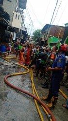 Kebakaran di Pademangan Timur Diduga Akibat Korsleting Listrik