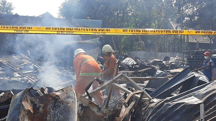 Ledakan Gudang Gas di Kembangan, Rumah Warga Sekitar Terguncang Keras