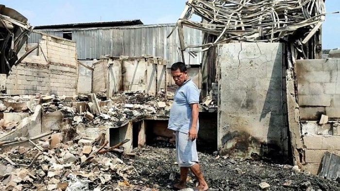 Uang David Sebesar Rp 5 Juta Ludes Terbakar saat Kebakaran di Kapuk Muara