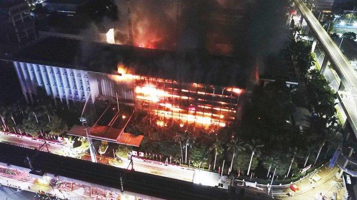 Gedung Kejaksaan Agung Kebakaran, Mahfud MD: Pemerintah Tidak Pernah Ada Niat Sembunyikan Kasus