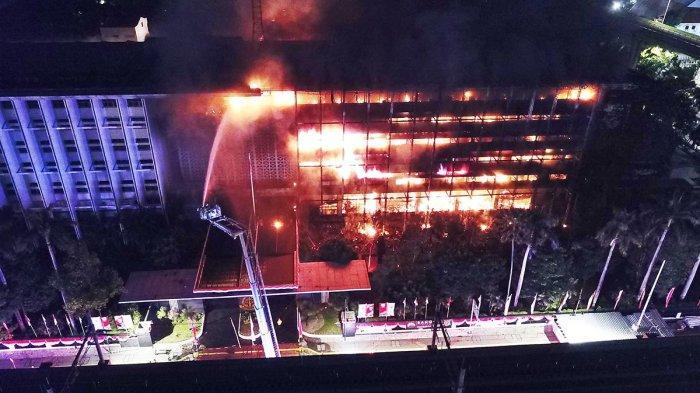 Gedung Kejaksaan Agung Kebakaran, Kapuspenkum: Curiga Kalau Tidak Didukung Bukti Bisa Fitnah