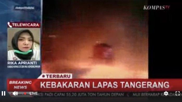 Kebakaran di Lapas Klas I Tangerang Blok C Napi Kasus Narkoba, 41 Tewas, 31 Luka Ringan