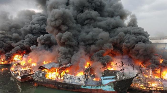 Penyelidikan Kasus Kebakaran Kapal di Muara Baru Tunggu Hasil Puslabfor
