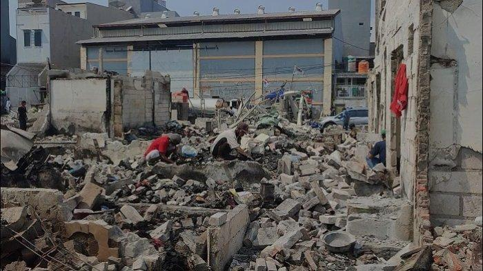 Korban Kebakaran di Teluk Gong Kehilangan Tempat Tinggal Diungsikan di 3 Lokasi