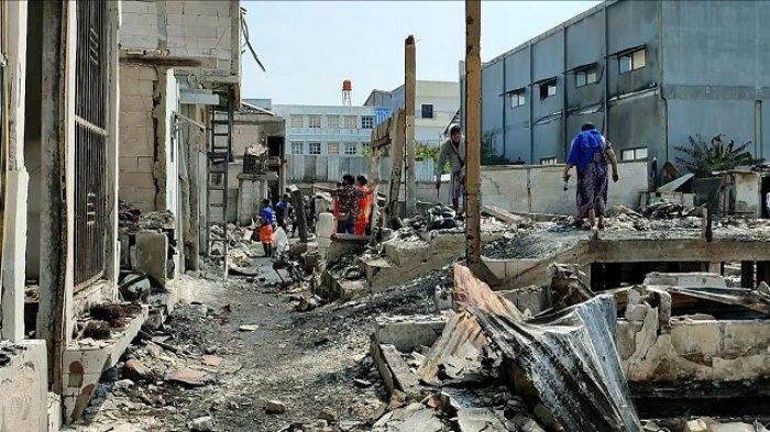 Nestapa Warga Kapuk Muara, Rumah Hangus Terbakar Jelang Lebaran, Kini Mereka Mengungsi di Ponpes
