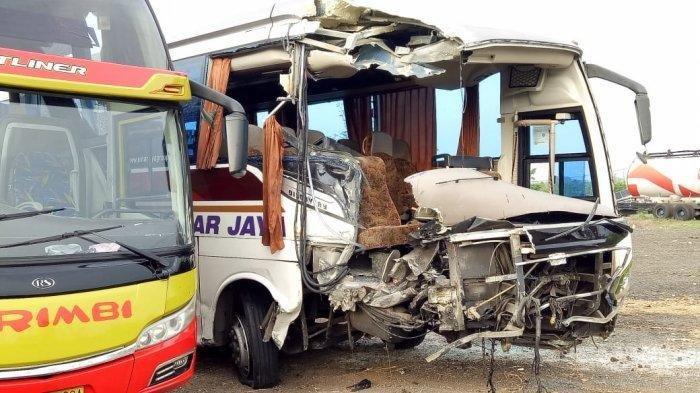 UPDATE Tabrakan Bus Sinar Jaya vs Arimbi di Cipali, 7 Tewas, 26 Luka, Jasa Marga Siapkan Santunan