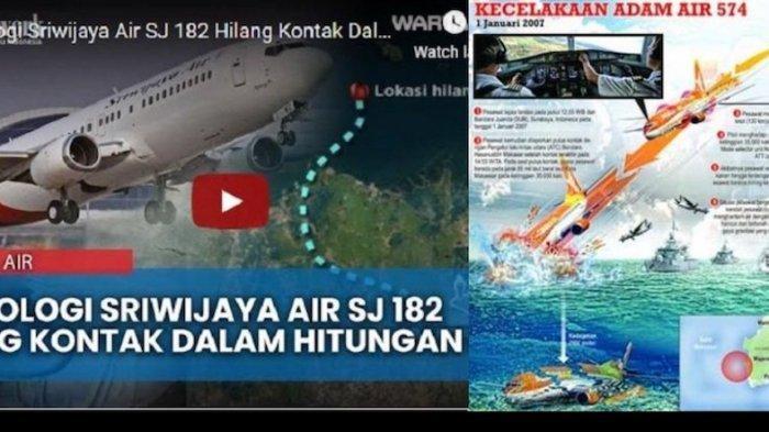 Mantan Senior KNKT: Ada Kemiripan Kecelakaan Sriwijaya Air SJ182 dan Adam Air Tahun 2007