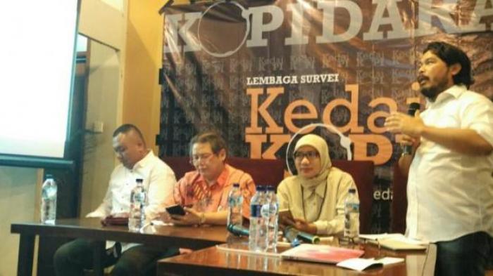 Kedai KOPI Lakukan Survei Ilmiah, Santai Jika Ada yang Tidak Puas dan Melapor ke KPU DKI