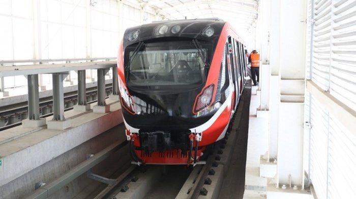 FOTO-FOTO Penampakan Gerbong LRT Jabodebek, Tarifnya Bakal Dipatok Rp 12 Ribu