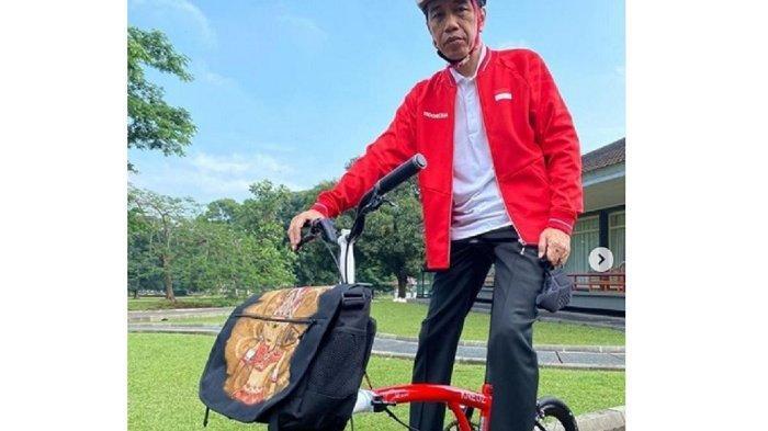 Berikut Merek Sepeda Jokowi yang Dipakai Berolahraga: Semuanya Buatan Indonesia