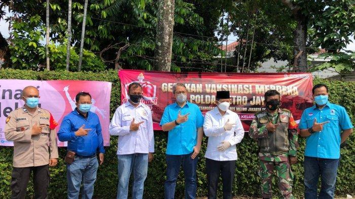 Vaksin Merdeka di Pesanggrahan,Gelorakan Solidaritas Pulihkan Jakarta