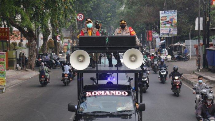 Naik Mobil Komando Bersama Kapolres dan Dandim Bekasi, Rahmat Effendi Woro-woro ke Pasar Baru Bekasi