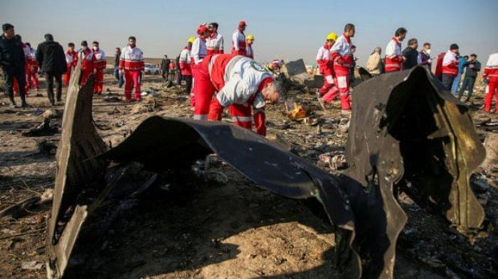 Iran Mengakui Ceroboh Menembak Jatuh Pesawat Ukraina Setelah Sempat Membantah karena Kerusakan Mesin