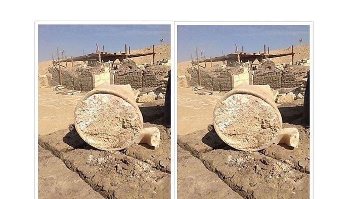 Keju Tertua Berusia 3.300 Tahun Ditemukan di Reruntuhan Makam Kuno di Mesir