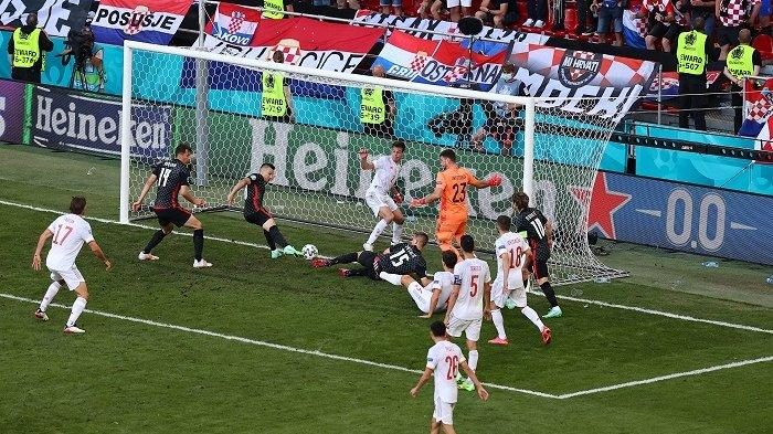 Update Piala Eropa 2020 Kroasia Vs Spanyol 3-3, Pertandingan Dilanjutkan Babak Tambahan Waktu