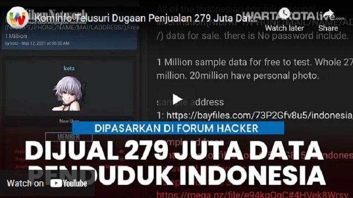 Siber Polri Bentuk Tim Khusus Bersama Polda Metro Jaya dan Lab Forensik Usut Kebocoran Data Penduduk