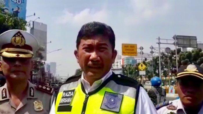 Ada Pengecekan Pajak Kendaraan di Jalan Gunung Sahari Selain Penindakan Perluasan Ganjil Genap