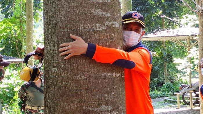 Reuni Kepala BNPB Letjen TNI Doni Monardo di Cijantung, Memeluk Pohon dan Mengenang Timtim