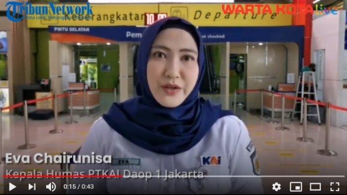 VIDEO Ada Pengalihan Arus Menuju Stasiun Gambir, Penumpang Bisa Naik KA dari Stasiun Jatinegara