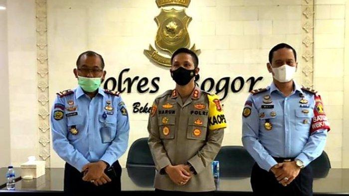 Dua Kalapas Gunung Sindur Kabupaten Bogor Sambangi Polres Bogor, Ini Kata Kapolres Bogor AKBP Harun