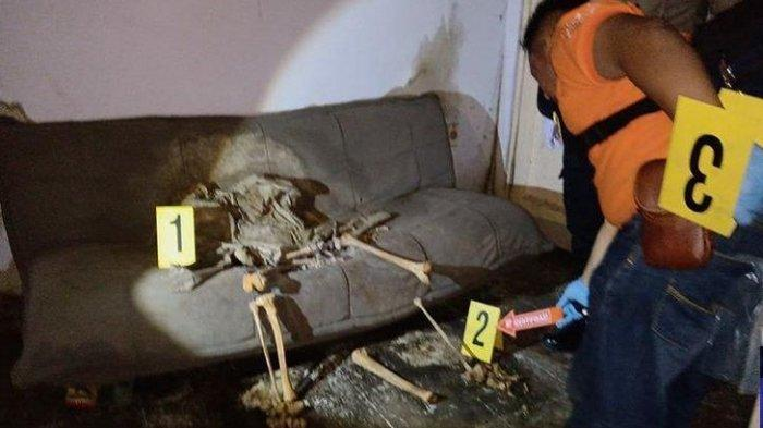 Kerangka Manusia Terduduk di Sofa Dipastikan Pria Setengah Baya, Polisi Buka Hotline 081343520327