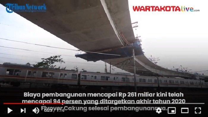 VIDEO Pembangunan Flyover Cakung Sudah 94 Persen,Targetkan Januari 2021 Bisa Digunakan