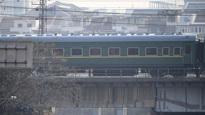 Kereta Kepresidenan Korut Tinggalkan China setelah Kim Jong Un Bertemu Xi Jinping
