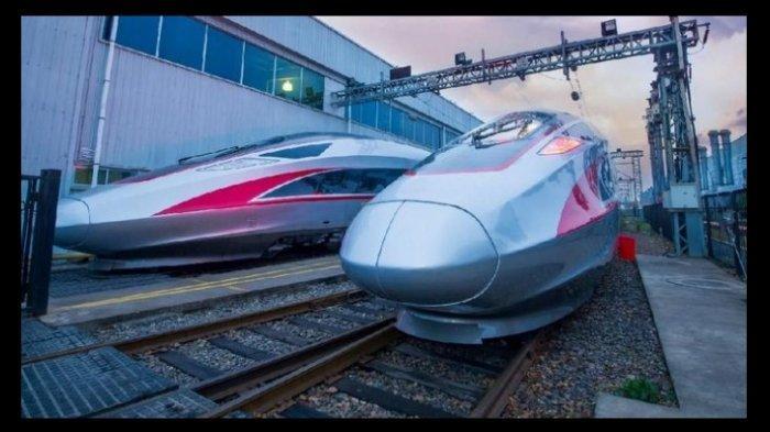 Kereta cepat Jakarta-Bandung yang ditargetkan bisa selesai tahun 2001