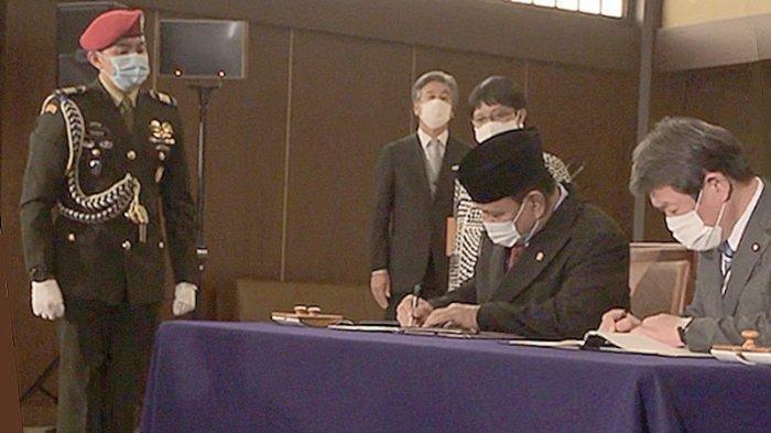 Prabowo: Pertama Kali Kesepakatan Perjanjian Kerjasama Militer Dengan Jepang Ditandatangani