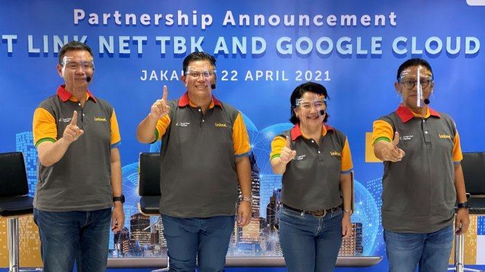 Link Net Jalin Kemitraan dengan Google Cloud Indonesia Untuk Percepatan Transformasi Digital