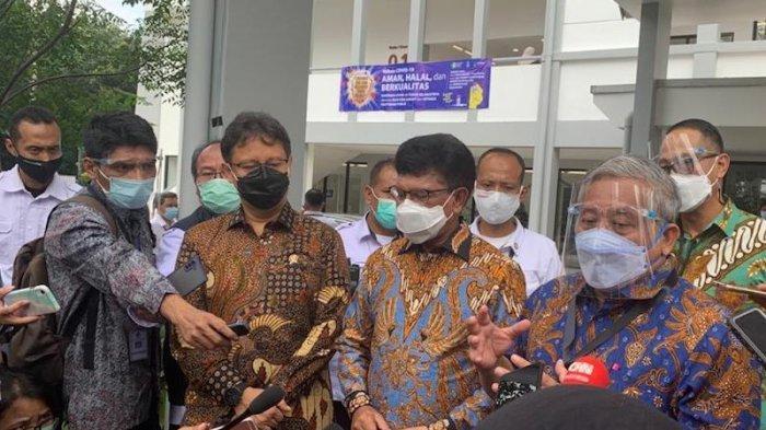 Presiden Jokowi Sampaikan Alasan Awak Media Diberi Vaksinasi Covid-19