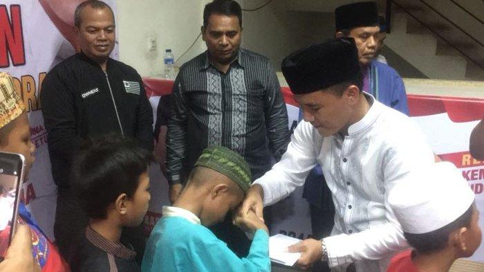 Ketua DPC Partai Gerindra Jakarta Timur Adi Kurnia Setiadi.