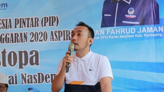 Kader DPC Nasdem Kampanye Door To Door Menangkan Cellica-Aep, Bila Perlu ke Basis-basis Lawan!