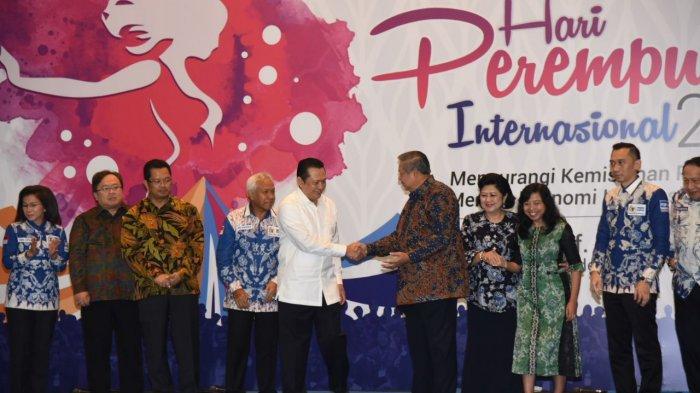 Seminar Hari Perempuan di DPR, Bamsoet Puji Presiden Jokowi dan SBY
