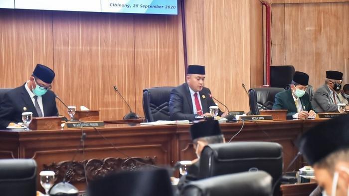 Sempat Pimpin Rapat Paripurna, Ketua DPRD Kabupaten Bogor Rudy Susmanto Positif Covid-19