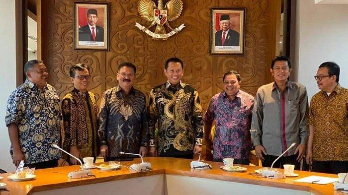 PWI-MPR Kerja Sama Sosialisaikan Amandeman UUD 1945, Bambang Soesatyo: Bisa Bahas Presiden 3 Periode
