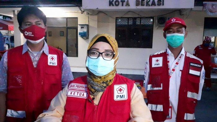 Maksimalkan Stok Darah di Saat Pandemi Petugas PMI Kota Bekasi Jemput Bola Cari Pendonor Pakai Motor