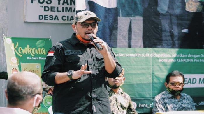 Ketua Umum HMS Center Hardjuno Wiwoho Sebut Sudah Banyak Masyarakat yang Pulang Kampung
