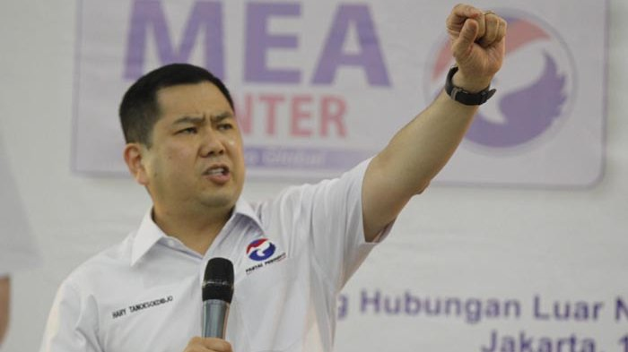 Perindo Minta Dilibatkan dalam Pembahasan Calon Pendamping Jokowi di 2019