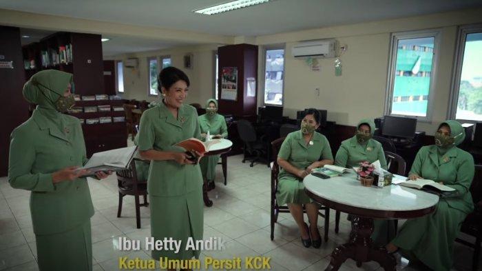 VIDEO Persit KCK Ucapkan Selamat Hari Pendidikan Nasional 2021