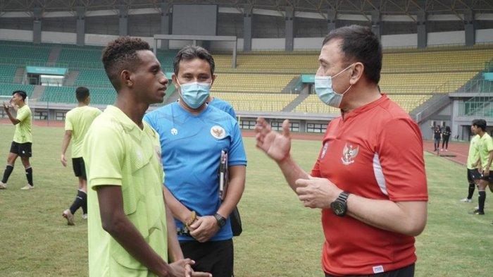 Bima Sakti: Timnas U-16 Indonesia Terus Menunjukkan Progres Positif Selama Pemusatan Latihan