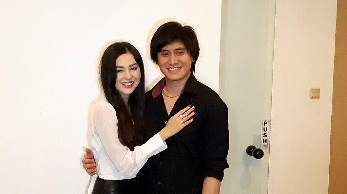 Vicy Melanie dan Kevim Aprilio ditemui di Studio Aprilio Kingdom, Lebak Bulus Jakarta Selatan, Rabu (28/10/2020).