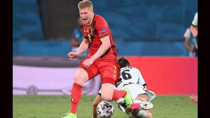 Meski Belgia Gagal Lolos ke Empat Besar, Gelandang Kevin De Bruyne Tetap Bangga Bisa Hadapi Italia