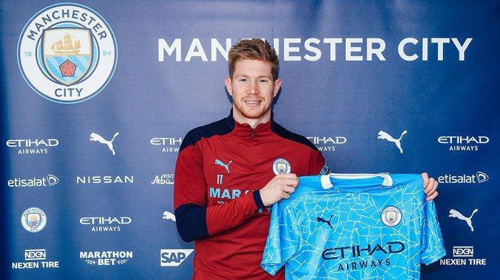 Kevin De Bruyne Perpanjang Kontrak di Manchester City Hingga Tahun 2025
