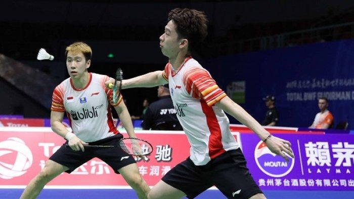 Link Live Streaming Laga Kevin/Marcus vs Inoue/Kaneko
