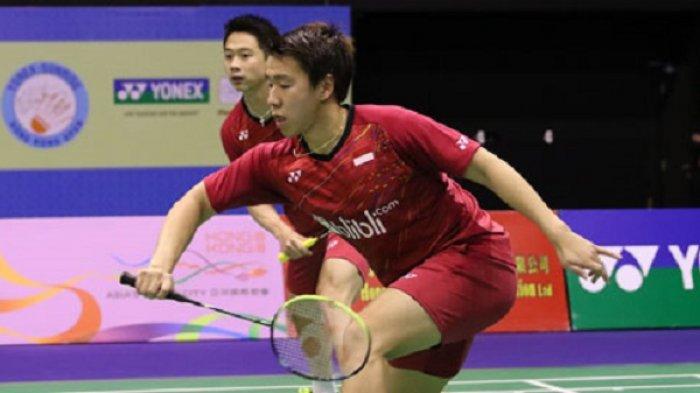 Juara di Hongkong Open, Kevin/Marcus Samai Rekor Lee Yong Dae/Yoo Yeon Seong